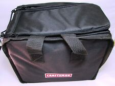 """CRAFTSMAN SEMI-RIGID 12"""" TOOL BAG, HOLDS 1-2 TOOLS, BATTERY, CHARGER, MORE - NEW"""
