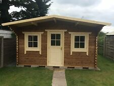 Log Cabin treatment room, spray tan,massage.6 by 4.5  meters, we make any size.