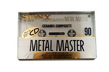 Sony Metal Master 90 Ceramic Type IV New Sealed Made in Japan