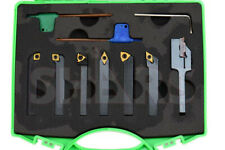 Shars 7pcs 14 Indexable Turning Threading Lathe Tool Insert Certificate A
