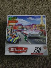 Hot wheels puzzles lot of 5, 750 pieces