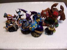 Lot of 9 Skylander Toys (StarStrike PopFizz TreeRex And More) Lot #Z25
