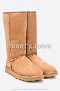 {1016224-CHE} Women's UGG CLASSIC II TALL BOOT CHESTNUT *NEW* MSRP: $200