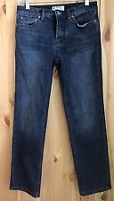 Free People Women's Distressed Dark Wash Jeans Size 25 Skinny Ankle