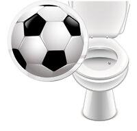 4 x Aufkleber WC FUSSBALL Toilette Toilettensticker Tattoo Pissior Klo Sticker