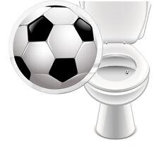 4x Adhesivo inodoro Fútbol toilettensticker TATOO pissior Lavabo PEGATINA