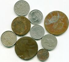 World coins vintage lot of (9)   lotfeb3242