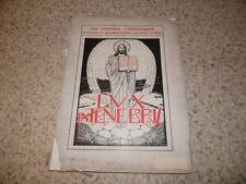 1928.les missions catholiques.Statistiques et graphiques.Streit