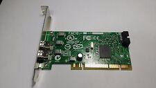 lot qty Genuine Dell H924H Dual Port IEEE-1394 PCI FireWire Card LS2-FAE10