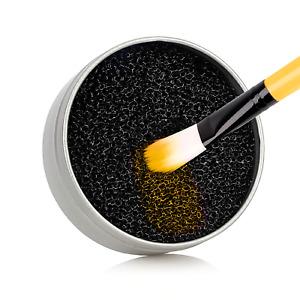 limpiador de brochas y pinceles maquillaje quita el color en seco reutilizable