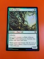 English -BFG- MTG Magic 1x x1 Foil Wall of Roots Iconic Masters Near Mint