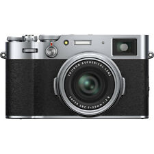 Fujifilm  X100V 26.1MP 4K Digital Camera with 23mm F2 Fixed Lens Silver 16642939