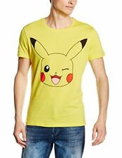 /8718526062731/ Pokemon - Pikachu Print Yellow (t-shirt Unisex Tg. M) Bioworld