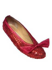 The Wizard of Oz adult size RUBY slipper SHOE COVERS Rubie's Costume Halloween