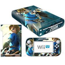 Nintendo Wii U Console Controllers Skin Kit Legend of Zelda Vinyl Decals Sticker