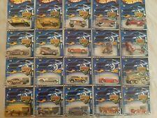 LOT OF Twenty (20) Hot Wheels Assorted On Card 2000-2001 Ferrari 348 Porsche 911