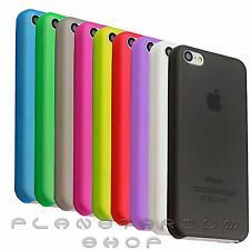 FUNDA CARCASA PARA APPLE IPHONE MATE ULTRAFINA ANTI-HUELLAS SEMI-TRANSPARENTE