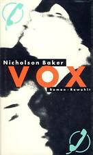 VOX - Roman (Erotik am Telefon) - Autor: Nicholson Baker