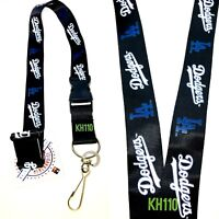 Los Angeles Dodgers MLB Keychain Lanyard (Black Color)