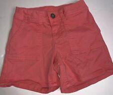 Justice Girls Shorts Sz 8 Coral Pink Pockets