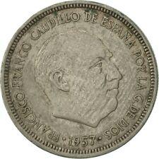 [#418708] Spain, Caudillo and regent, 5 Pesetas, 1971, AU(50-53), Copper-nickel