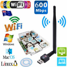 600Mbps USB 2.0 Wifi Router Wireless Adapter Network LAN Card with 5 dBI Antenna