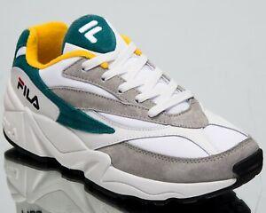 Fila Venom Low Mens Gray Violet Color Block Active Lifestyle Sneakers 1010572-11