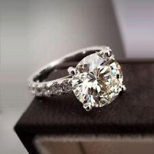 Vintage Diamant-Verlobungsring Für Ihr 2,40 Ct Solitär Weißgold-Finish Hochzeit