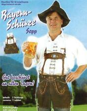 Bayern-Schürze Sepp Lederhosen Kostüm Fasching Karneval Oktoberfest Grillschürze