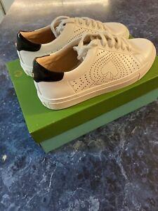 Kate Spade Aaron Leather Sneaker Women's Size 7.5 $128