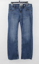 Banana Republic Size 0 Petite Bootcut Jeans - Medium Wash Distressed  -  27 x 27