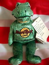 HRC Hard Rock Cafe Ft Lauderdale Alligator Krokodil Florida Herrington NWT New