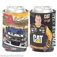 RYAN NEWMAN #31 CAT RACING CAN COOLER COOLIE NEW BY WINCRAFT FREE SHIP