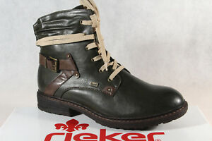 Rieker-Tex Lace up Boots Ankle Boot Boots Green 94740 New