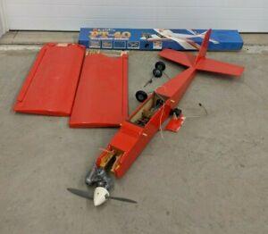Great Planes RC Remote Control PT-40 OS E-3030 Engine Motor Model Airplane Plane