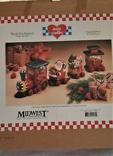 Eddie Walter North Pole Express Midwest Cannon Falls 7448/7500 Train Set of 4