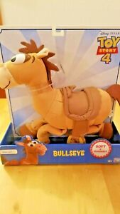 Disney Toy Story 4 Bullseye, Woody's Horse Soft Huggable 64066 Pixar Film NEW
