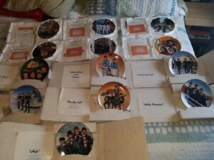 Beatles Collector's Plates 13 of the original 14 as a lot