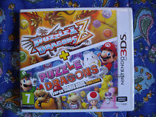 Puzzle & Dragons Z + Puzzle & Dragons: Super Mario Bros - 3ds - Nuevo