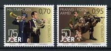 Luxembourg 2017 neuf sans charnière Volutary Army Service & MUSIQUE MILITAIRE 2 V Set musique timbres