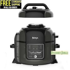 Ninja Foodi TenderCrisp 6.5-Quart Pressure Cooker,Air Fryer OP300 (Black) 1400W