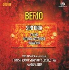 Berio: Sinfonia; Calmo; Ritirata Notturna di Madrid (SACD, CD, 2014, Ondine) new