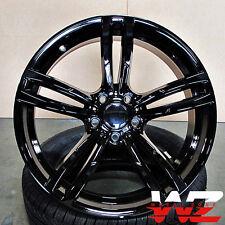 19 inch 437 Style Wheels Gloss Black Fits BMW 3 4 5 6 Series M3 M4 M5 M6