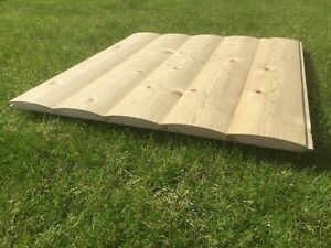 Tongue and Grooved 22x125 Loglap sheds Timber DIY shed office Cladding