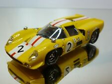 BEST LOLA T70 #2 - YELLOW 1:43 - VERY GOOD CONDITION - 20