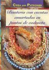 Serie Cuentas y Abalorios nº 36. BISUTERÍA CON CUENTAS ENSARTADAS EN PUNTOS DE