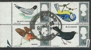 #6898 GREAT BRITAIN Sc#461-464A Used Block of 4