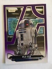 2017 Topps Star Wars Galactic Files Reborn Purple Card #TFA-13   R2-D2  #55/99
