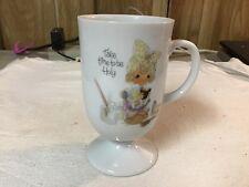 Precious Moments Take Time To Be Holy Vintage Mug 1983