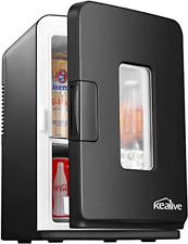 Mini frigo 15 litres/18 canettes cooler et chauffe-Petit réfrigérateur portable AC/DC Mini &